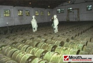 With chemical weapons stored all over the place it was a no brainer to have put an international force in to secure them