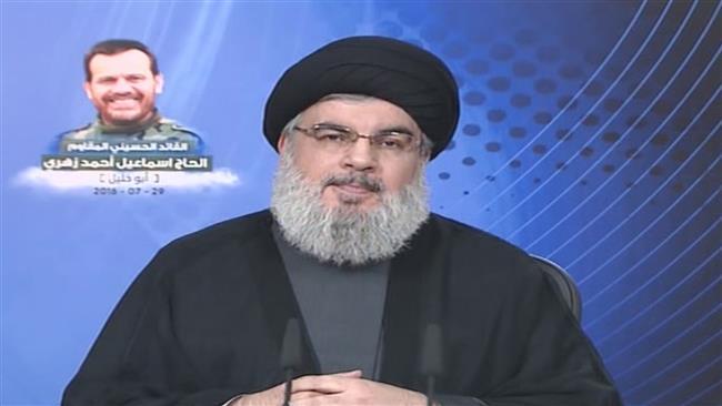 Saudi normalizing Israeli ties free of charge: Nasrallah