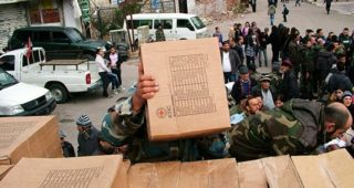 Bloody street fighting might be next in Aleppo, with civilians caught in the middle