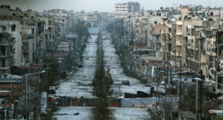 The people of Aleppo cry for it all to end