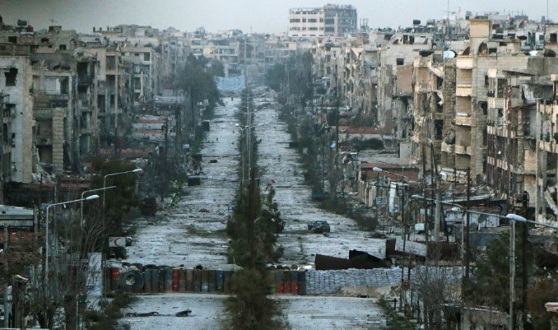 Russia and Syria launch large-scale humanitarian op for Aleppo residents