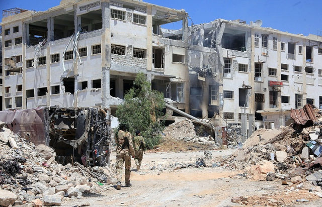 Aleppo is a destroyed city
