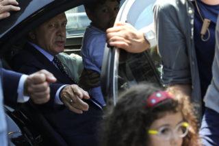 Erdogan returns