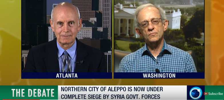 The Debate – Battle for Aleppo, with Jim W. Dean
