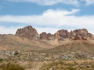 Desert near Phoenix AZ in the USA
