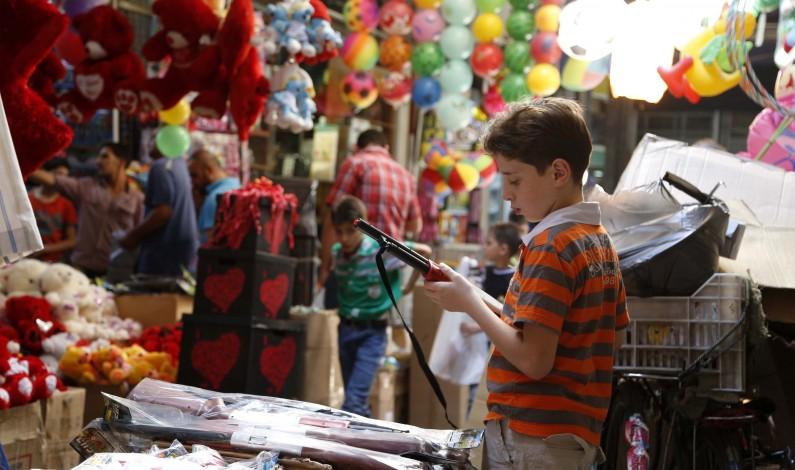 Muslims in Syria celebrate Eid al-Fitr!