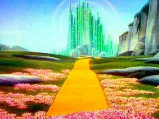 The Emerald City is not waiting for us at the end of the road