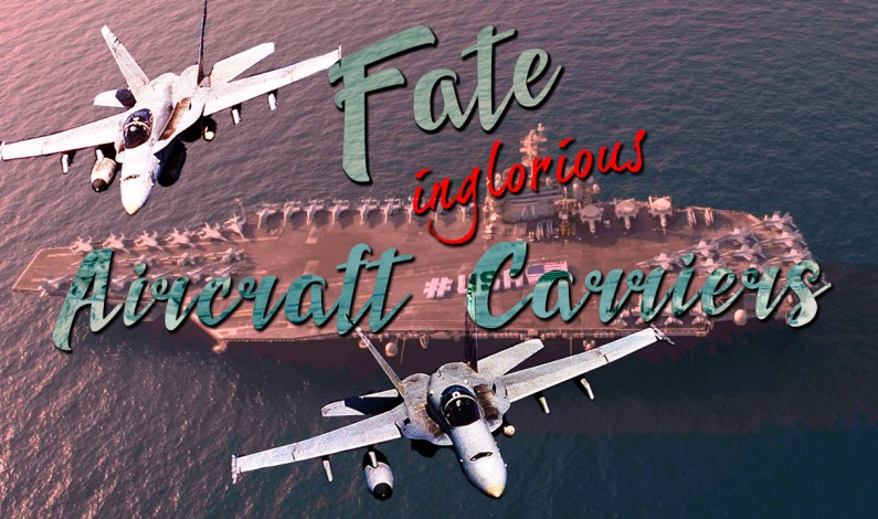 End of Aircraft Carriers Era?
