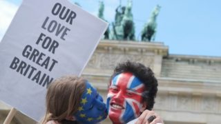Despite Brexit wining the vote Britain remains divided on the outcome