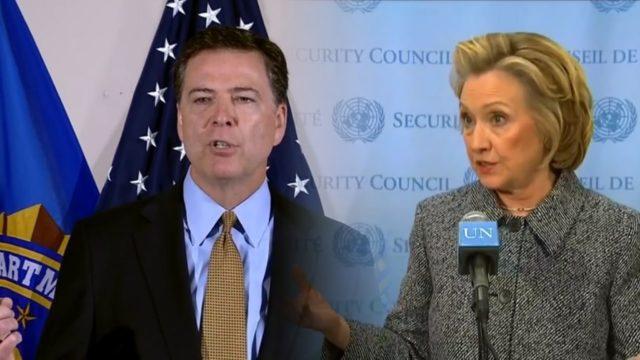 Hillary Clinton vs. James Comey