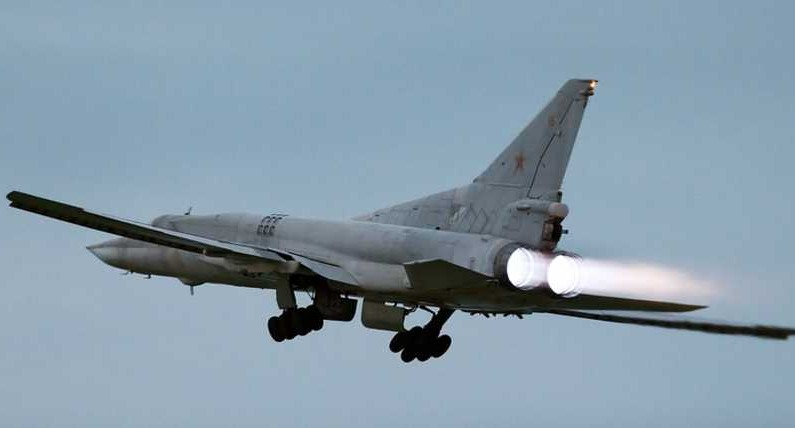 Russian strategic bombers deliver new strikes at IS militants in Syria