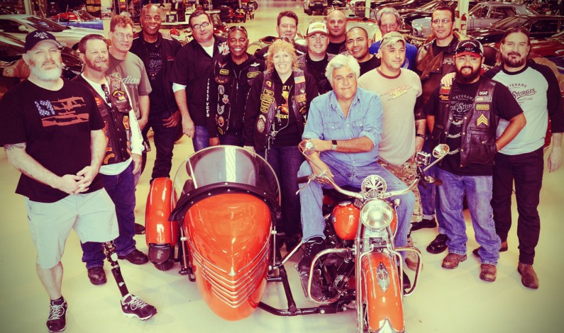 Press Release: Jay Leno Joins Forces with Veterans Charity Ride for a Second Year