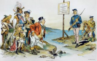 Monroe Doctrine morphed into the Asia Pivot