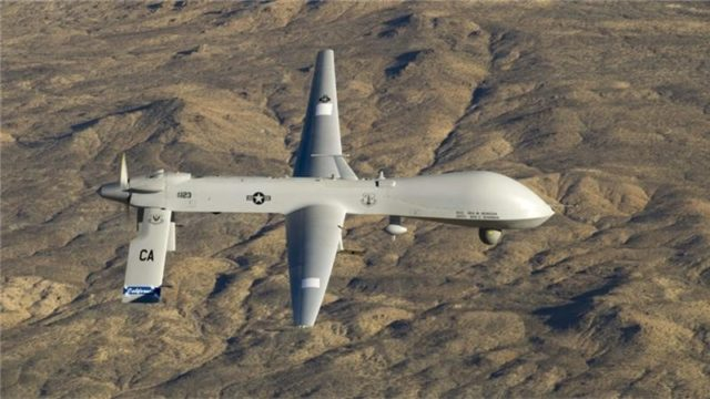 Iran Official: American, Israeli Drones Gather Data for Syria Terrorists