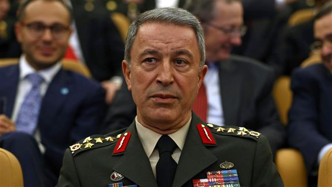Hulusi Akar, the chief of the General Staff of Turkey's armed forces
