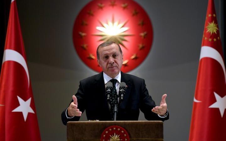 Erdogan announces sweeping overhaul of the Turkish military