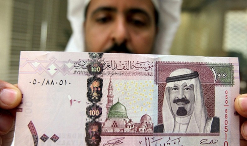 The smell of the Saudi Riyal is spreading