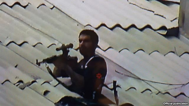 armenia sniper Pierce