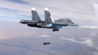 Are Russian and Syrian air power crushing the NATO-supported rebel attacks?