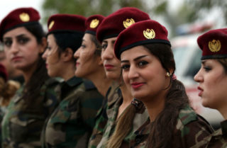 Not a time for the Kurds to be smiling