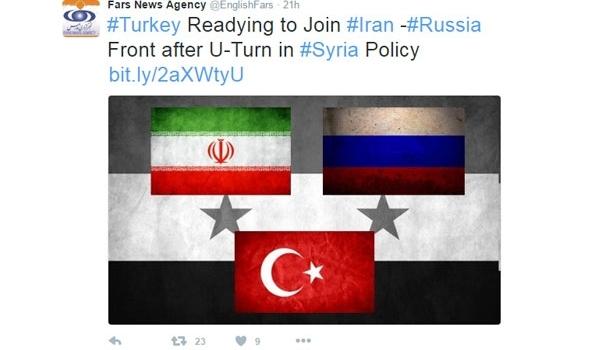 Erdogan to Visit Tehran to Launch Turkey-Iran-Russia Coalition