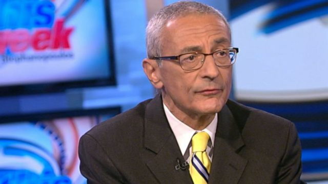 "Podesta will have lawyers covering him on ""illegal intent"""