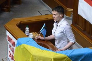 Nadiay Savchenko is now driving Kiev nuts