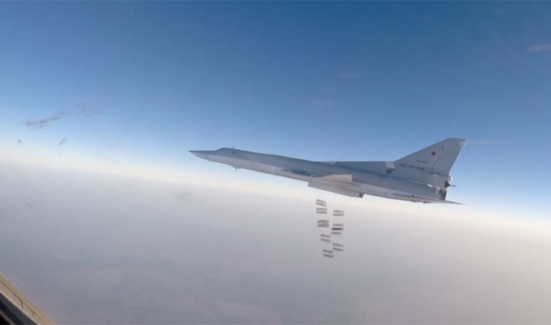 Russian bombers destroy US backed chemical weapons plant near Raqqa, Syria