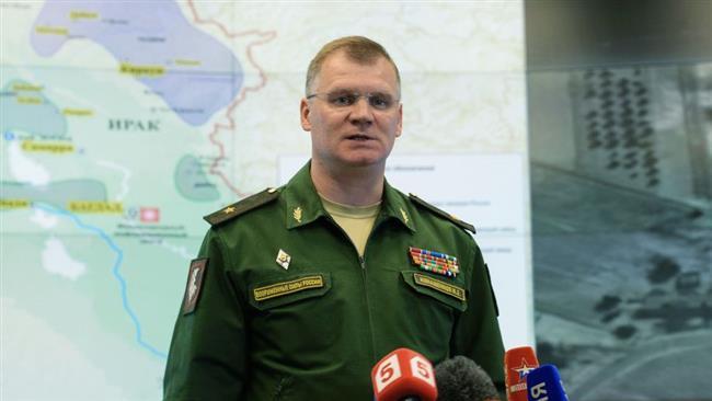 Russian Defense Ministry spokesman Major General Igor Konashenkov