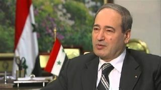 Syrian Deputy Foreign Minister Faisal Miqdad