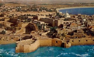 Old town, Acre, Israel