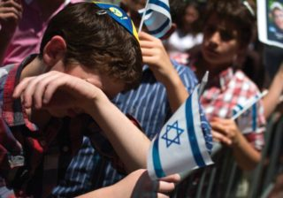 """Still teaching their children to search under every rock for """"anti-Semitism"""""""