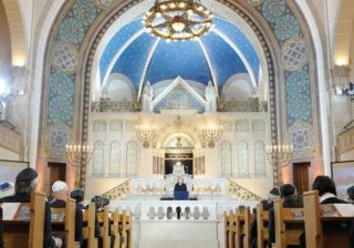 One of at least ten Berlin Synagogues in a thriving community