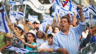 """""""As an Israeli, I don't want a dime of my taxes going to Jews in Diaspora - It isn't that I'm mad at the Jews of America. On the contrary. I don't nurse any grudge against them. But I also don't feel any sense of responsibility for them."""" (Quote from Haaretz 2016. File photo.)"""