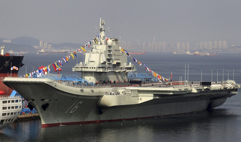 China Readies First Indigenous Aircraft Carrier and a Fleet of Destroyers
