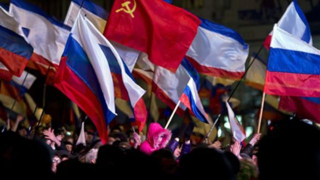"""Crimea goes with Russia with a 94% majority after the Kiev coup and yet the Western coupmiesters call that a """"takeover"""""""