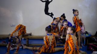 Children of Russian immigrants provide Israel with a gymnastics team