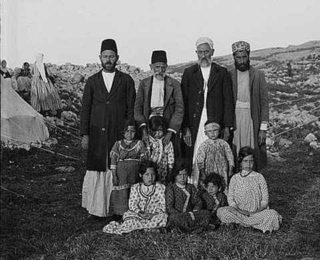 Samaritan Sect circa 1920
