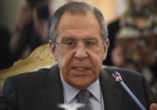 How was Lavrov able to keep Damascus toned down on the Turkish incursion?