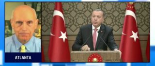 Erdogan knows he holds the world stage now, and maybe for serveral months