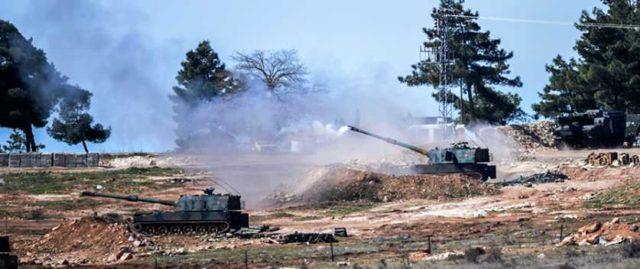 Turks shell Jarablus