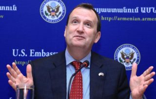 US Ambassador to Armenia Richard Mills