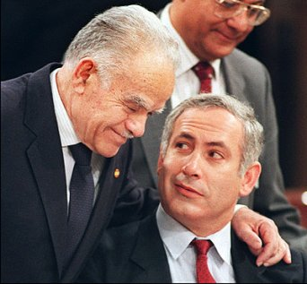 """""""Brother Netanyahu, thank you so much or treading on my terrorist work."""""""
