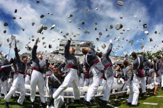 West Point cadets got theirs for free - the kind you worked your ass off for