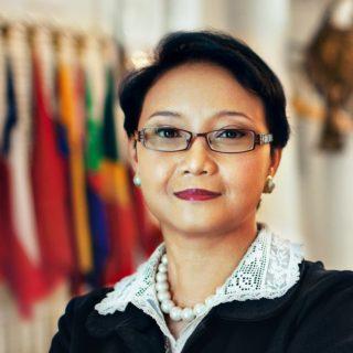 Indonesian FM Retno Marsud