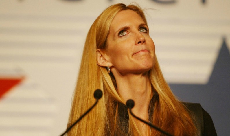 The Khazarian Mafia has morally and intellectually crippled Ann Coulter