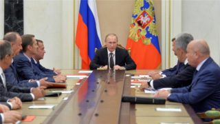 Putin's Defense Council and the Russian public are solidly behind him