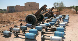 Indiscriminate shelling by the jihadis gets almost no Western bad press
