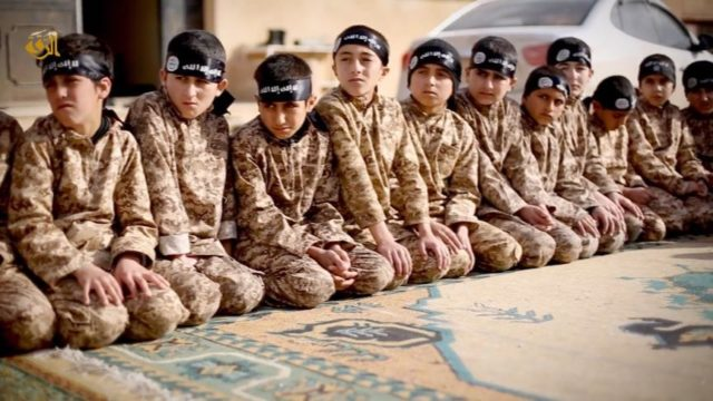 """They train them young, mainly to be future suicide bombers"""