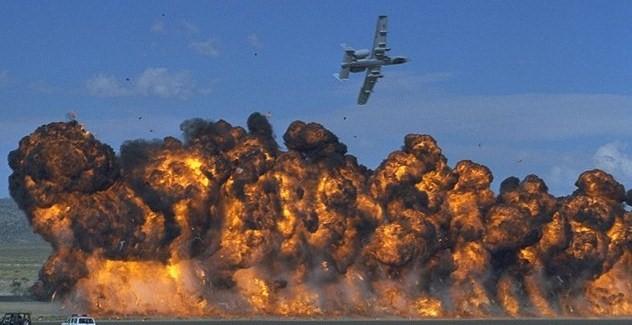 napalm-bombing